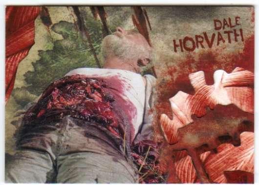2016 Topps Walking Dead Survival Box Walker Bite