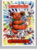 2017 Topps Garbage Pail Kids Series 2 Classic Rock #8A GRATEFUL TED