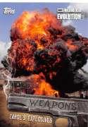 2017 Topps Walking Dead Evolution Weapons #W-3 Carol's Explosives