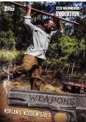 2017 Topps Walking Dead Evolution Weapons #W-10 Morgan's Wooden Staff
