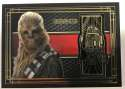 2017 Topps Star Wars The Last Jedi Medallion Relics #BG-CR Chewbacca/R2-D2