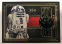 2017 Topps Star Wars The Last Jedi Medallion Relics #BG-R2R R2-D2/Resistance
