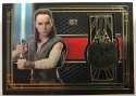 2017 Topps Star Wars The Last Jedi Medallion Relics #BG-RM Rey/Millennium Falcon