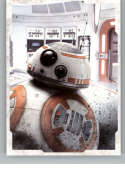 2017 Topps Star Wars The Last Jedi Character Portraits #CP-6 BB-8