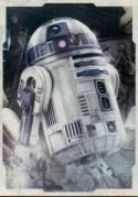 2017 Topps Star Wars The Last Jedi Character Portraits #CP-8 R2-D2