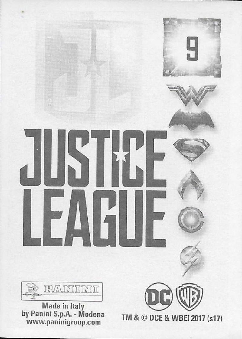 2017-Panini-Justice-League-Sticker-Pick-Your-Cards-Lot-Finish-Set thumbnail 3