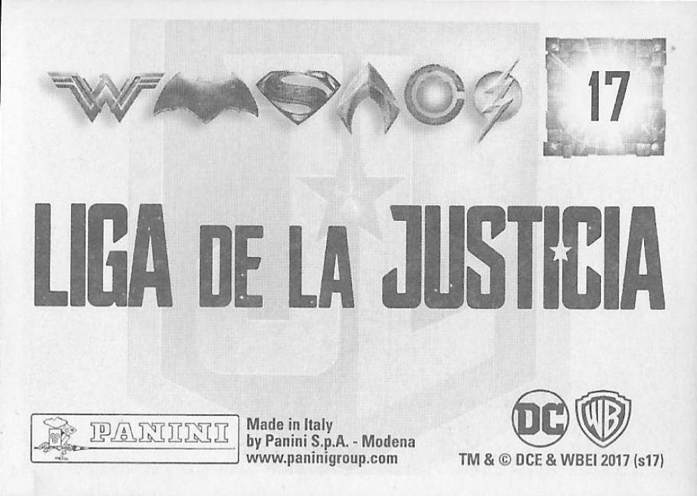 2017-Panini-Justice-League-Sticker-Pick-Your-Cards-Lot-Finish-Set thumbnail 7