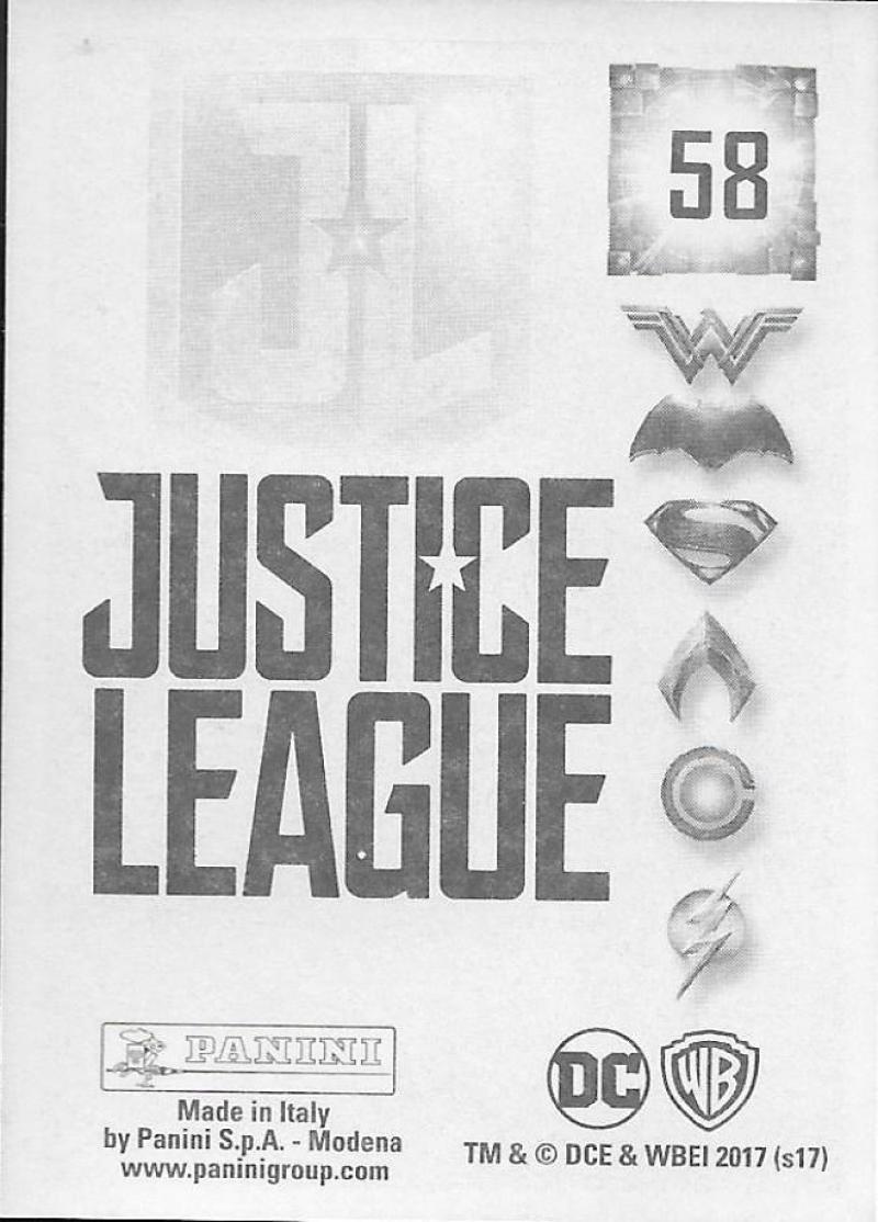2017-Panini-Justice-League-Sticker-Pick-Your-Cards-Lot-Finish-Set thumbnail 13