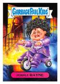 2018 Topps Garbage Pail Kids Series 1 We Hate the 80s Trading Cards 80s CELEBRITIES #1B PURPLE RAYNE