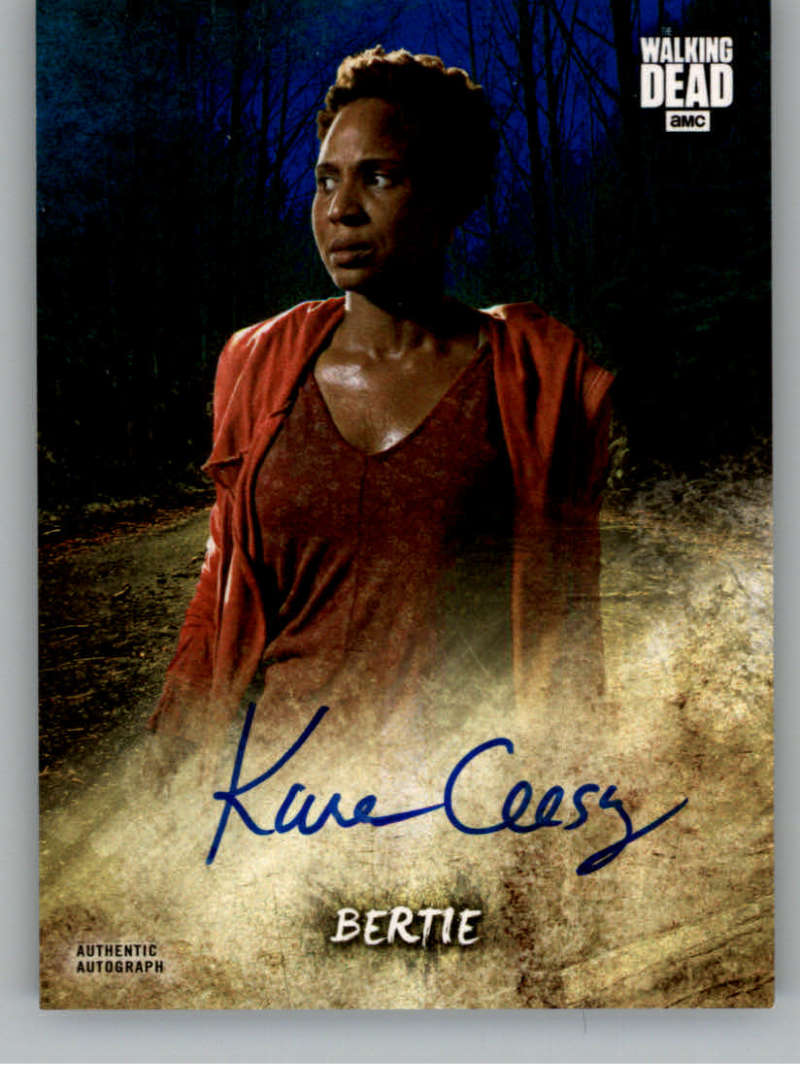 2018 Topps Walking Dead Road to Alexandria Autographs Blue