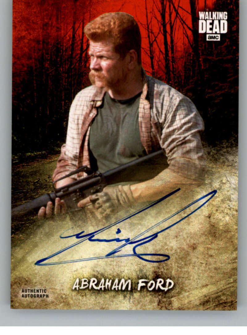 2018 Topps Walking Dead Road to Alexandria Autographs Blood Red
