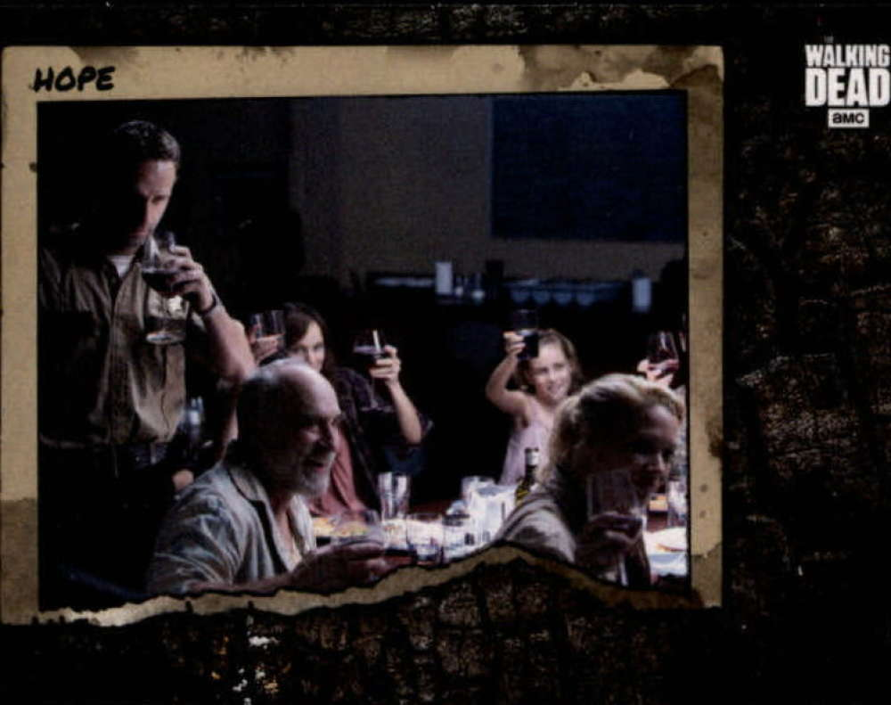 2018 Topps Walking Dead Road to Alexandria Better Days