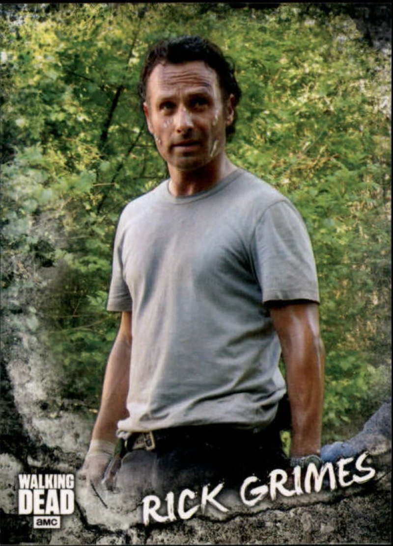 2018 Topps Walking Dead Road to Alexandria Characters