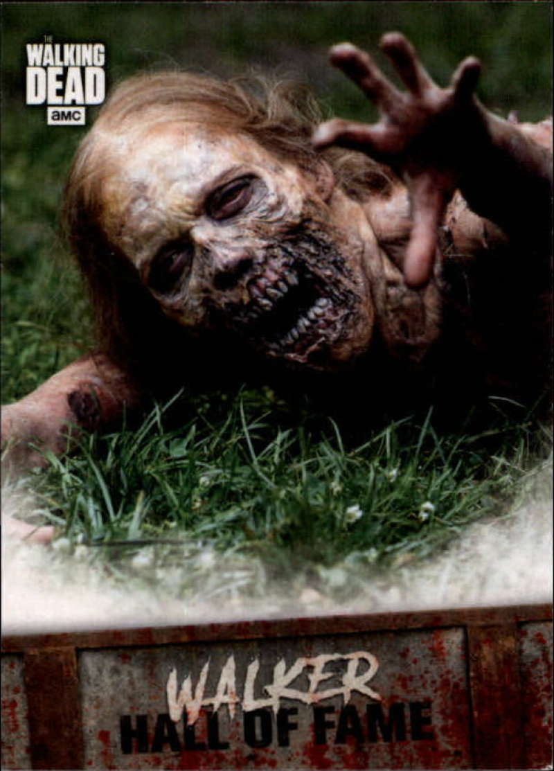 2018 Topps Walking Dead Road to Alexandria Walker Hall of Fame