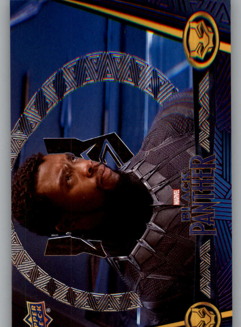2018 Upper Deck Black Panther Silver