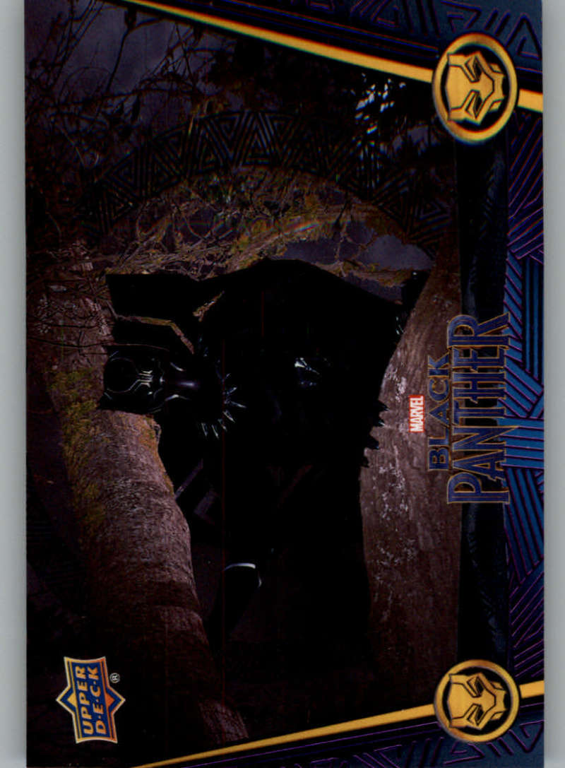2018 Upper Deck Black Panther Black