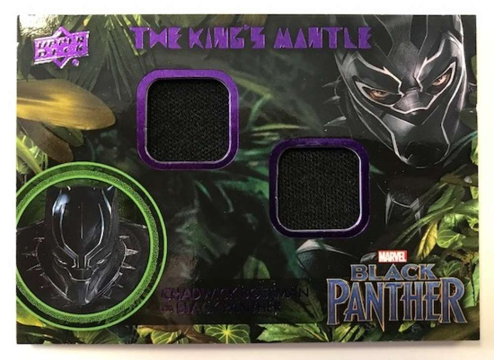 2018 Upper Deck Black Panther The King's Mantle Memorabilia