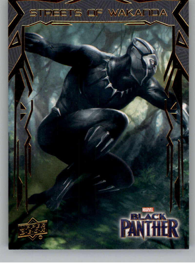 2018 Upper Deck Black Panther Streets of Wakanda