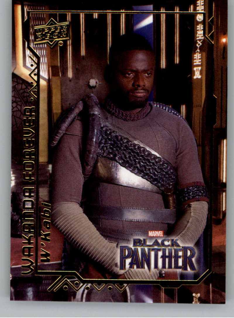 2018 Upper Deck Black Panther Wakanda Forever