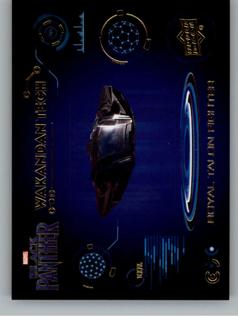 2018 Upper Deck Black Panther Wakandan Tech