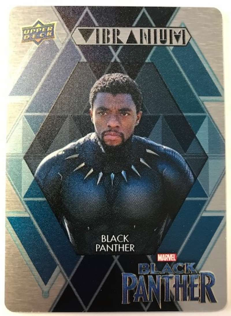2018 Upper Deck Black Panther Wakandan Vibranium