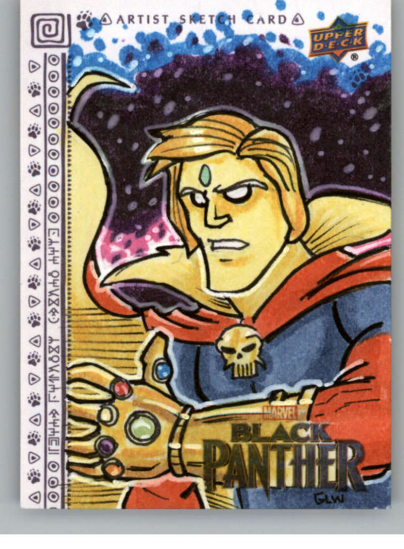 2018 Upper Deck Black Panther Sketch Artists