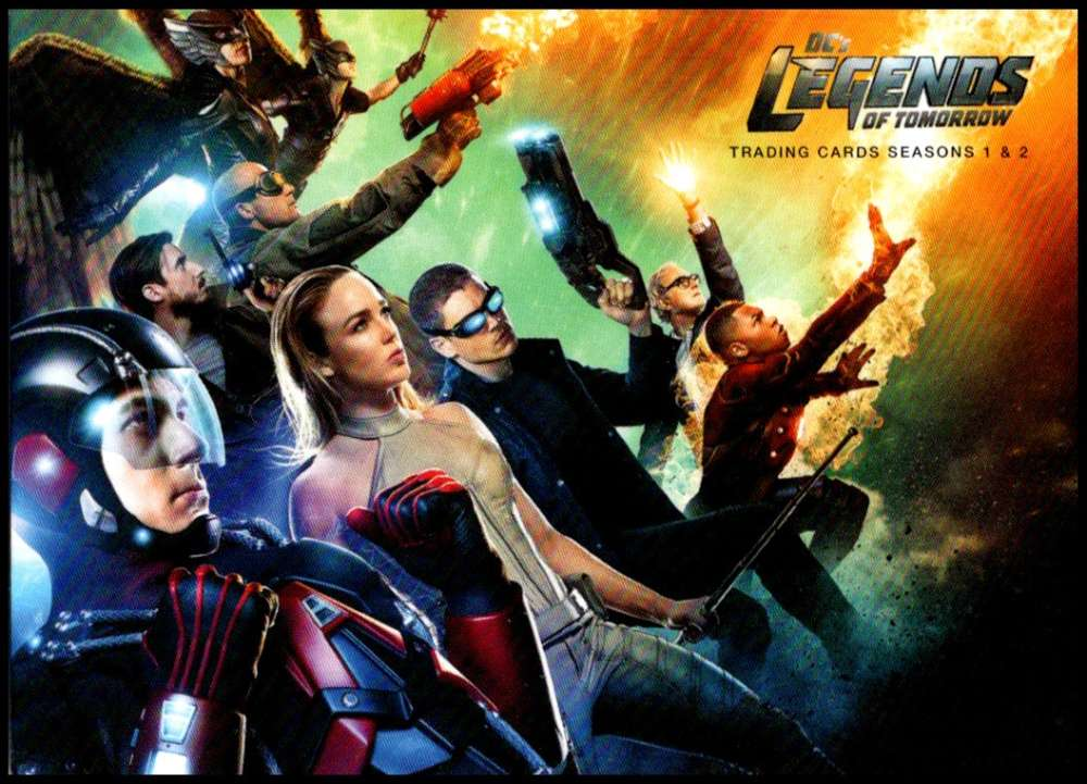 2018 Cryptozoic Legends of Tomorrow Seasons 1 and 2