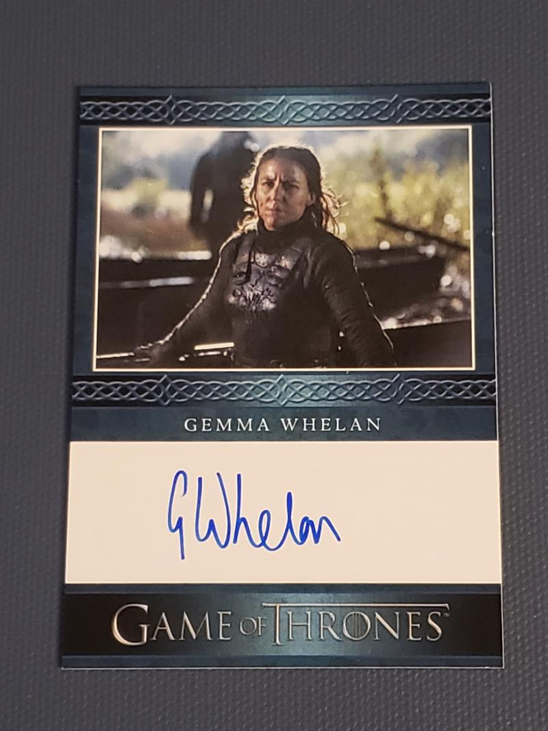 2018 Rittenhouse Game of Thrones Season 7 Autographs Blue