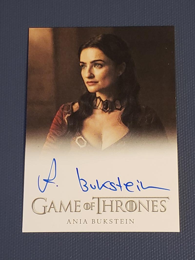 2018 Rittenhouse Game of Thrones Season 7 Autographs Full Bleed