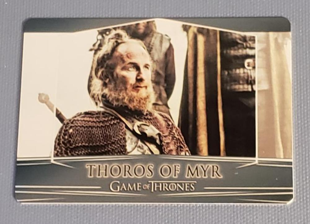 2018 Rittenhouse Game of Thrones Season 7 Valyrian Steel Expansion Metal