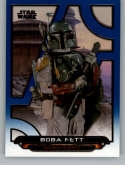2018 Topps Star Wars Galactic Files (Update) Blue #ROTJ-26 Boba Fett Return of the Jedi Official Movie Trading Card