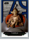 2018 Topps Star Wars Galactic Files (Update) Blue #TPM-30 Yaddle The Phantom Menace Official Movie Trading Card