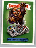 2018 Topps Garbage Pail Kids Oh The Horror-ible 80s Horror Stickers A #14A DALE FROM THE CRYPT  Peelable Collectible Trading Sticker Card