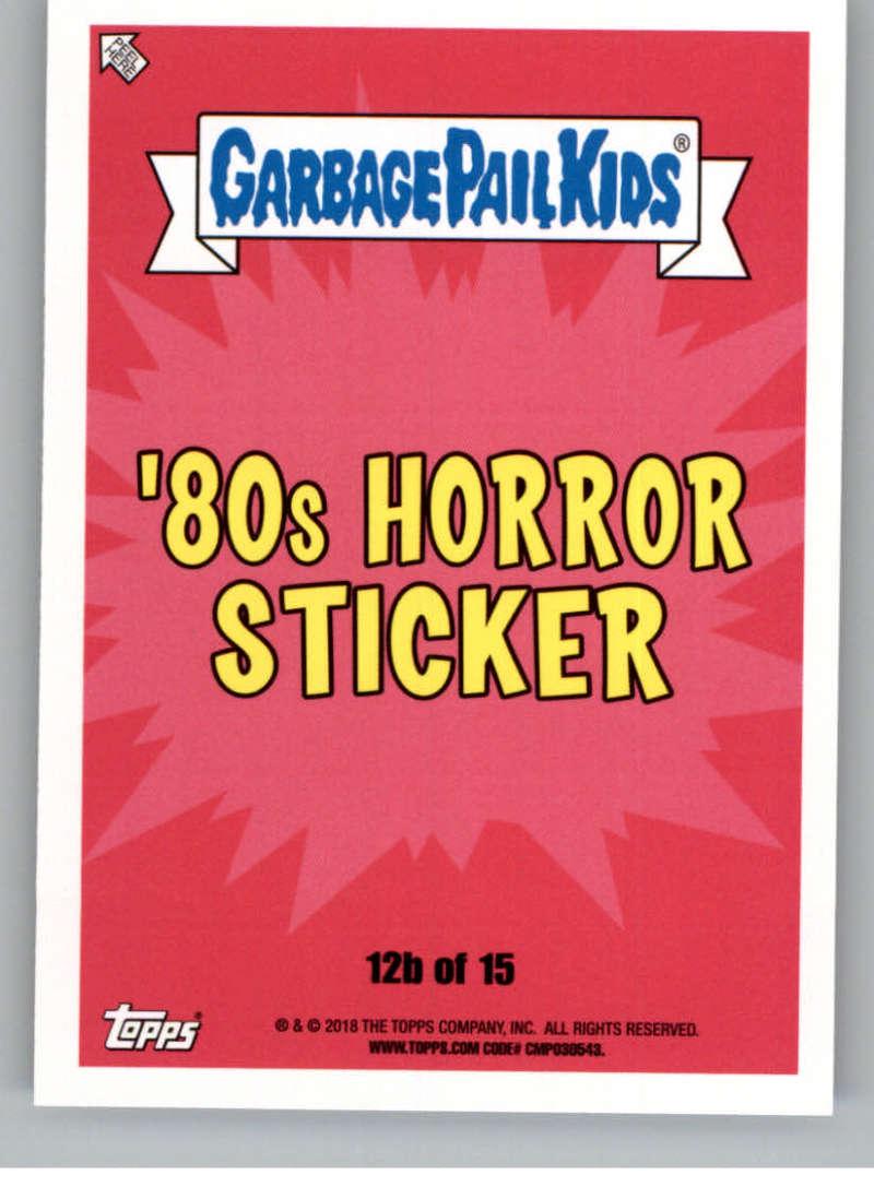 Garbage Pail Kids Oh The Horror Sticker 3b 80's Horror Shining Sheila