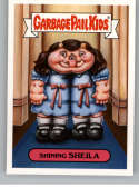 2018 Topps Garbage Pail Kids Oh The Horror-ible 80s Horror Stickers B #3B SHINING SHEILA  Peelable Collectible Trading Sticker Card