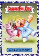2018 Topps Garbage Pail Kids Oh The Horror-ible Retro Horror Stickers B Jelly #3B MUTILATED MARY  Collectible Trading Card Sticker