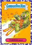 2018 Topps Garbage Pail Kids Oh The Horror-ible Retro Sci-Fi Stickers B Jelly #3B TURNER SOUP  Collectible Trading Card Sticker