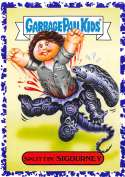 2018 Topps Garbage Pail Kids Oh The Horror-ible Retro Sci-Fi Stickers B Jelly #10B SPLITTIN' SIGOURNEY  Collectible Trading Card Sticker