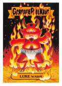 2018 Topps Garbage Pail Kids Oh The Horror-ible Classic Monster Stickers #7B LUKE WARM  Peelable Collectible Trading Sticker Card