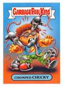 2019 Topps Garbage Pail Kids We Hate the '90s Cartoons and Comics Stickers B #2 CHOMPED CHUCKY  Peelable Collectible Trading Sticker Card (Rugrats)