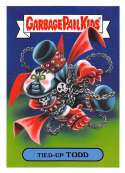 2019 Topps Garbage Pail Kids We Hate the '90s Cartoons and Comics Stickers B #9 TIED-UP TODD  Peelable Collectible Trading Sticker Card (Spawn)