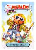 2019 Topps Garbage Pail Kids We Hate the '90s Music and Celebrities Stickers A #2 COURTED KURT  Peelable Collectible Trading Sticker Card (Nirvana)