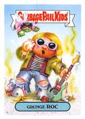 2019 Topps Garbage Pail Kids We Hate the '90s Music and Celebrities Stickers B #2 GRUNGE ROC  Peelable Collectible Trading Sticker Card (Nirvana)
