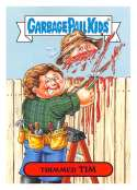 2019 Topps Garbage Pail Kids We Hate the '90s TV Stickers A #4 TRIMMED TIM  Peelable Collectible Trading Sticker Card (Home Improvement)