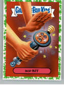 2019 Topps Garbage Pail Kids We Hate the '90s Toys Sticker A-Names Puke #12 of 18 BOP KIT