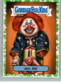 2019 Topps Garbage Pail Kids We Hate the '90s TV Sticker B-Names Puke #16 of 20 ZEE- BO