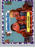 2019 Topps Garbage Pail Kids We Hate the '90s Cartoons and Comics Stickers B Jelly Purple #6 JUDGED MIKE  Peelable Collectible Trading Sticker Card (B