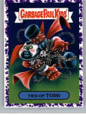 2019 Topps Garbage Pail Kids We Hate the '90s Cartoons and Comics Stickers B Jelly Purple #9 TIED-UP TODD  Peelable Collectible Trading Sticker Card (