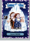 2019 Topps Garbage Pail Kids We Hate the '90s Films Stickers B Jelly Purple #16 FROZE ROSE  Peelable Collectible Trading Sticker Card (Titanic)