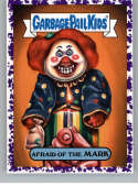 2019 Topps Garbage Pail Kids We Hate the '90s TV Stickers A Jelly Purple #16 AFRAID OF THE MARK  Peelable Collectible Trading Sticker Card (Are You Af